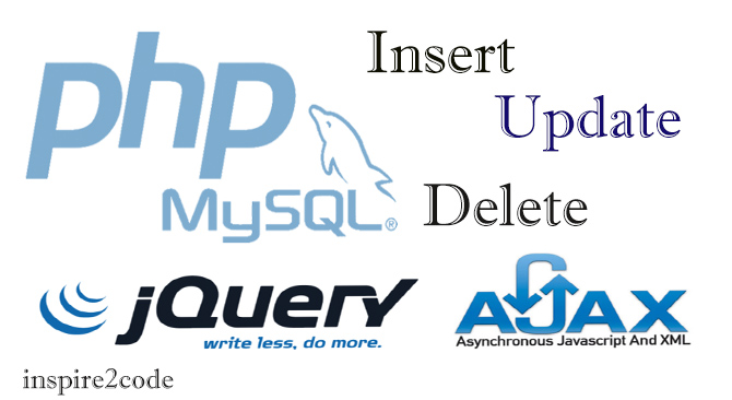 Insert, Update and Delete Operations via jQuery & Ajax in PHP + MySQL (Wall Script)